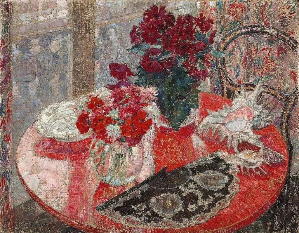 比利时画家 Léon de Smet  莱昂·德·史密特  作品欣赏插图29