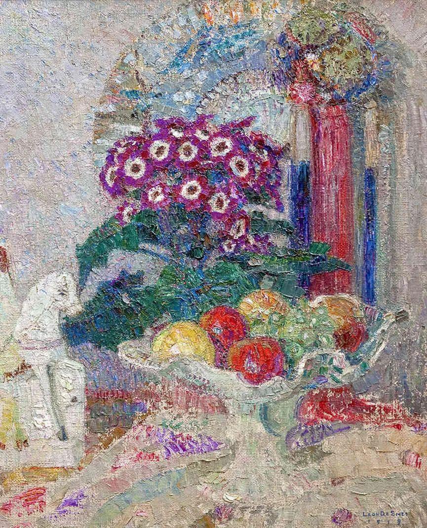 比利时画家 Léon de Smet  莱昂·德·史密特  作品欣赏插图31
