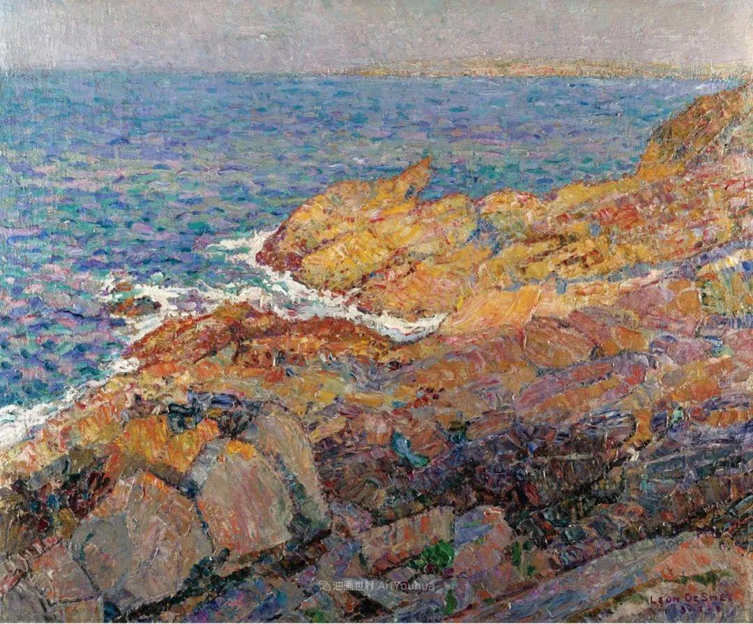 比利时画家 Léon de Smet  莱昂·德·史密特  作品欣赏插图33