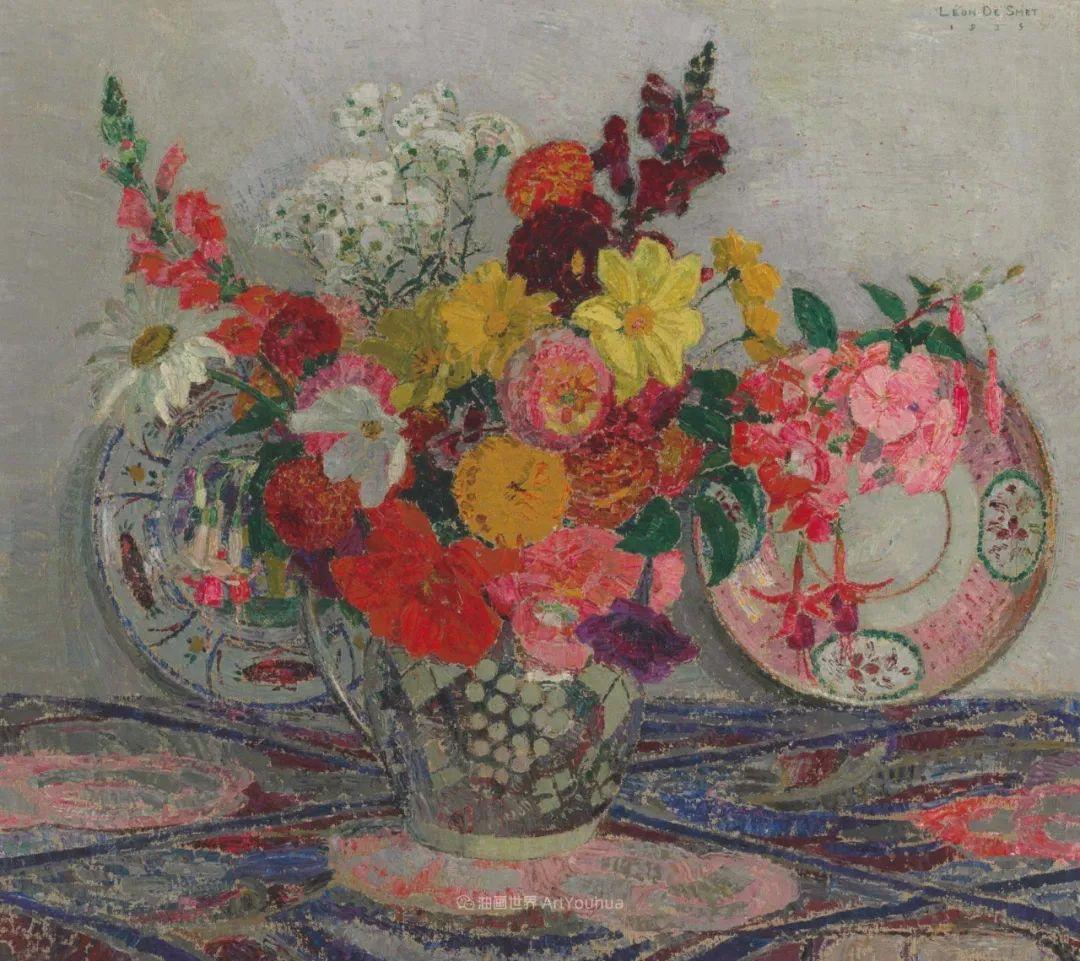 比利时画家 Léon de Smet  莱昂·德·史密特  作品欣赏插图35