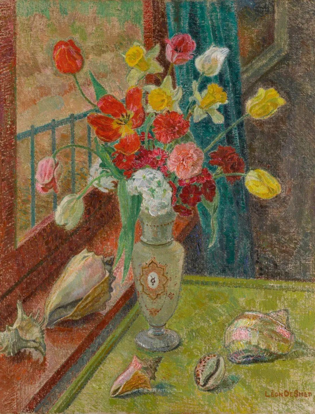 比利时画家 Léon de Smet  莱昂·德·史密特  作品欣赏插图37