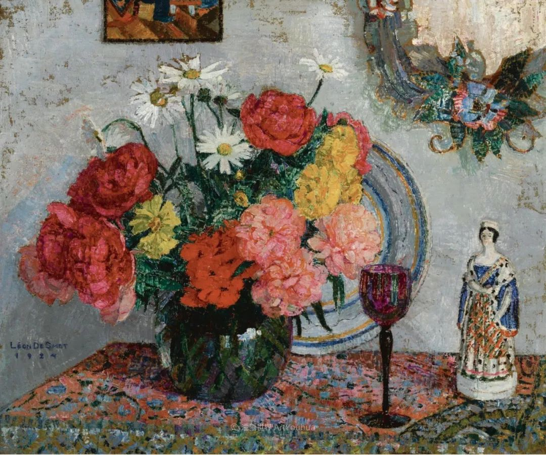 比利时画家 Léon de Smet  莱昂·德·史密特  作品欣赏插图39