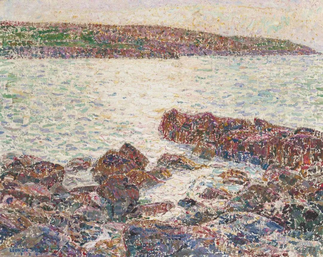 比利时画家 Léon de Smet  莱昂·德·史密特  作品欣赏插图41