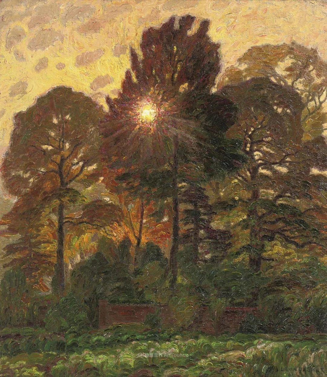 比利时画家 Léon de Smet  莱昂·德·史密特  作品欣赏插图45