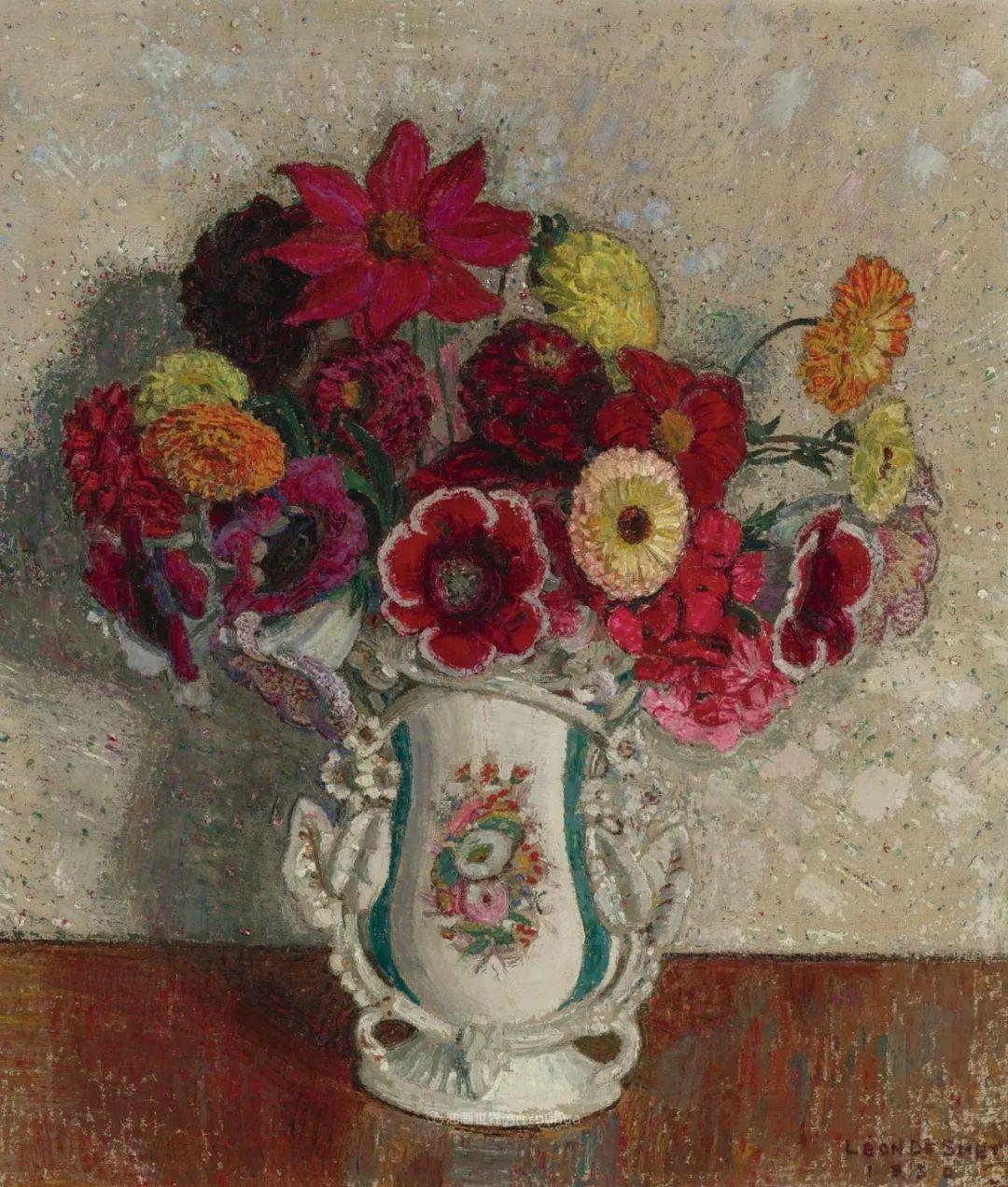 比利时画家 Léon de Smet  莱昂·德·史密特  作品欣赏插图49