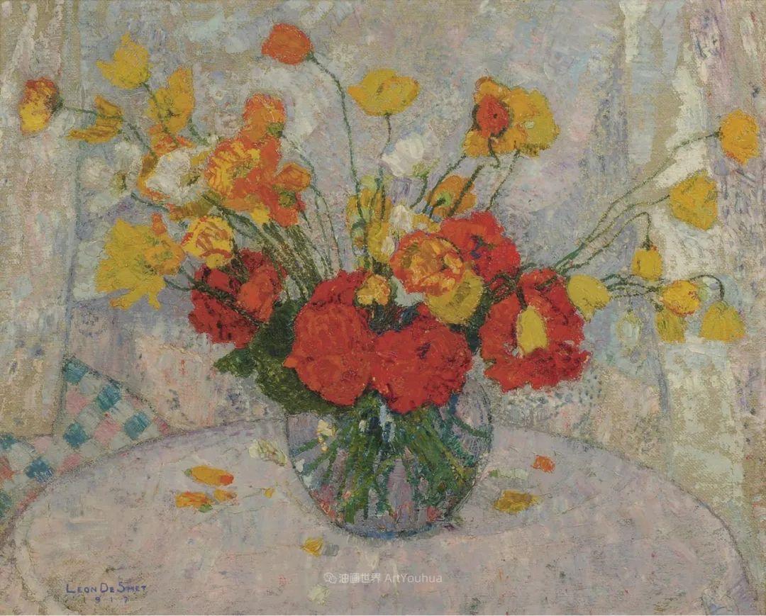 比利时画家 Léon de Smet  莱昂·德·史密特  作品欣赏插图51