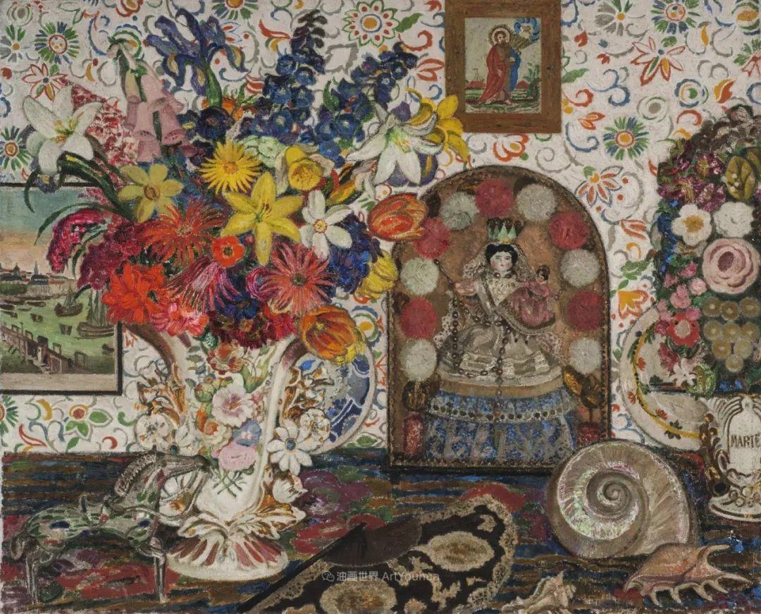 比利时画家 Léon de Smet  莱昂·德·史密特  作品欣赏插图55