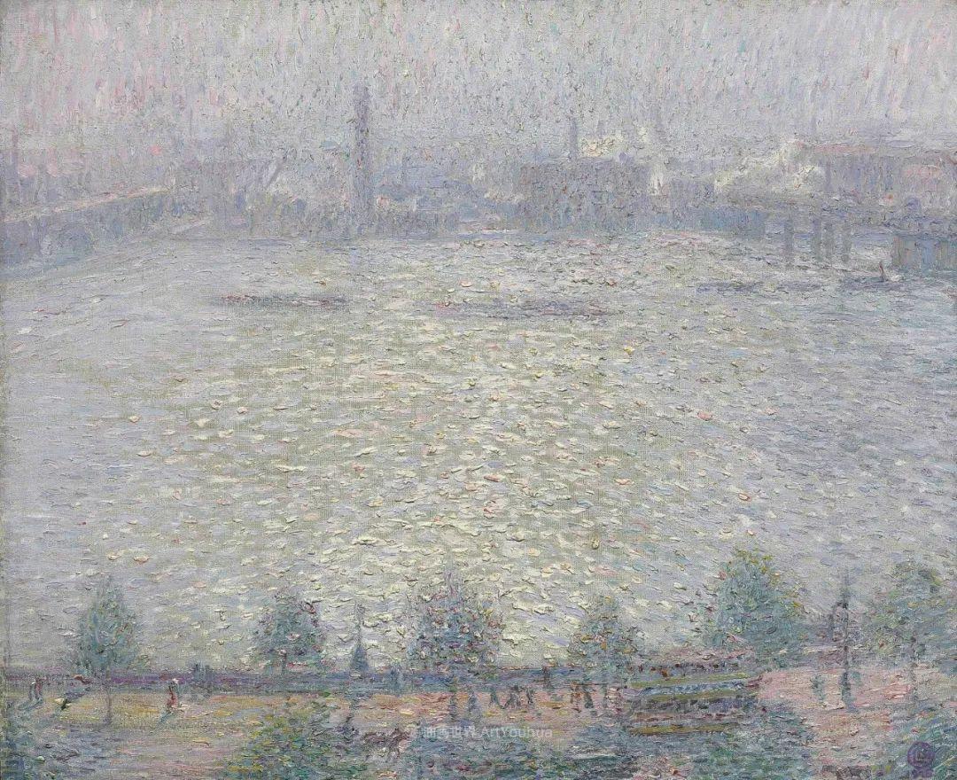 比利时画家 Léon de Smet  莱昂·德·史密特  作品欣赏插图59