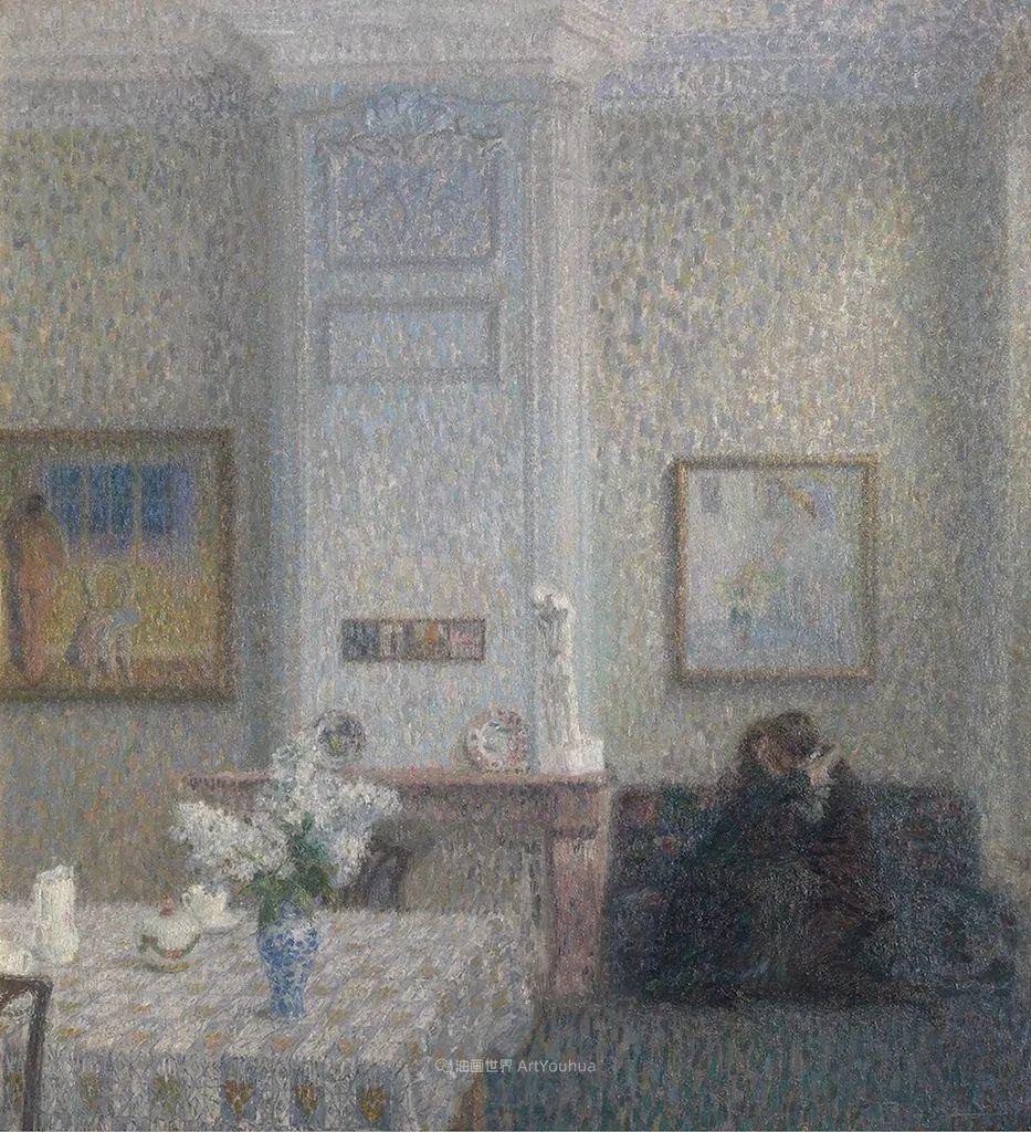 比利时画家 Léon de Smet  莱昂·德·史密特  作品欣赏插图65