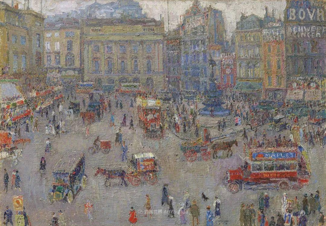 比利时画家 Léon de Smet  莱昂·德·史密特  作品欣赏插图67