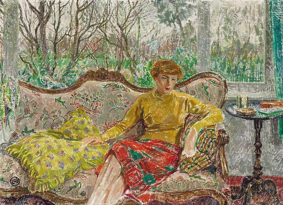比利时画家 Léon de Smet  莱昂·德·史密特  作品欣赏插图69