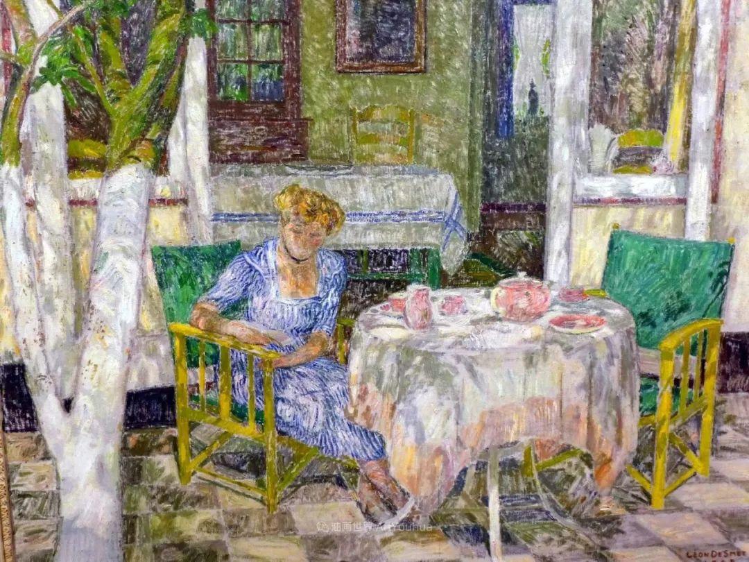 比利时画家 Léon de Smet  莱昂·德·史密特  作品欣赏插图71