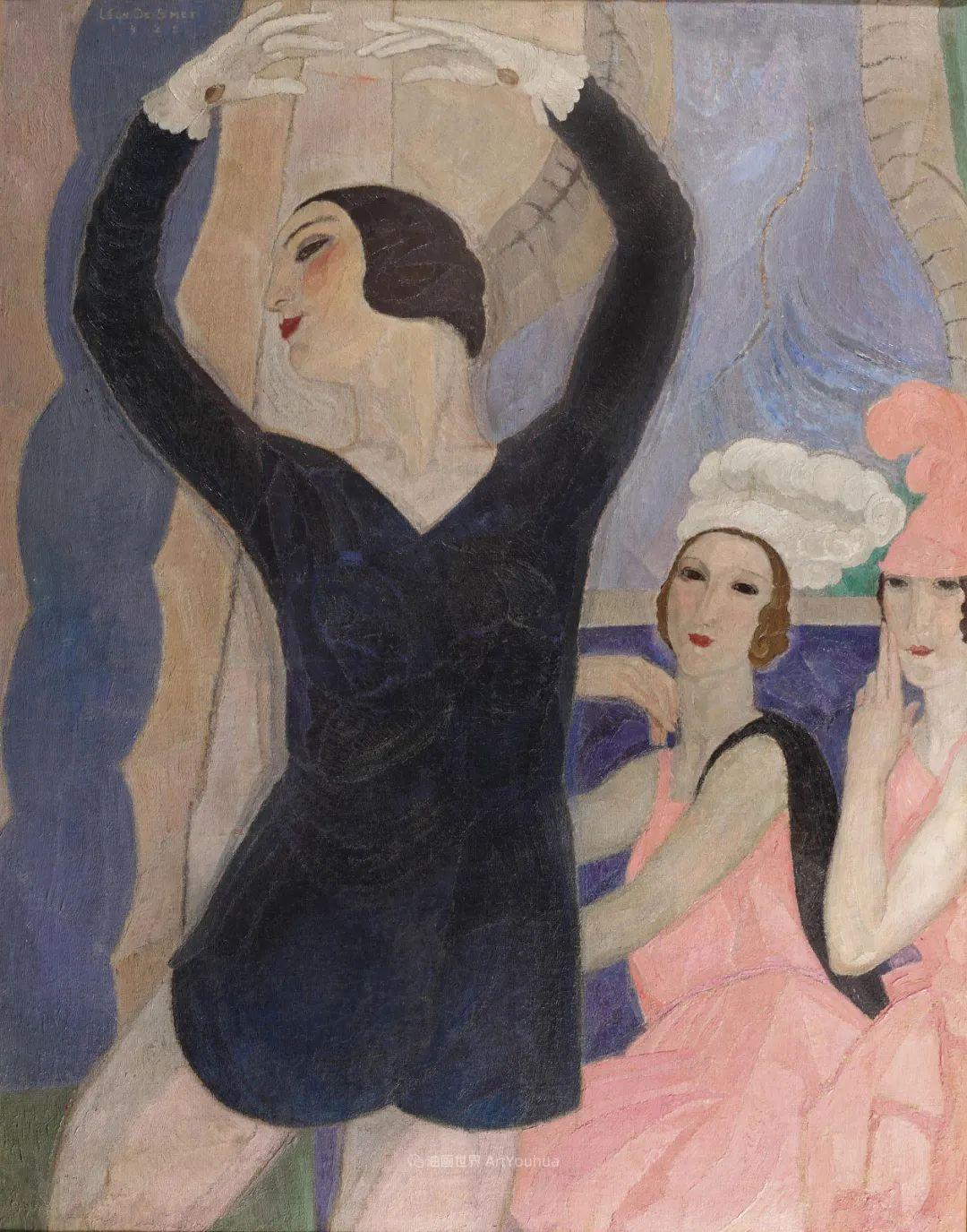 比利时画家 Léon de Smet  莱昂·德·史密特  作品欣赏插图73