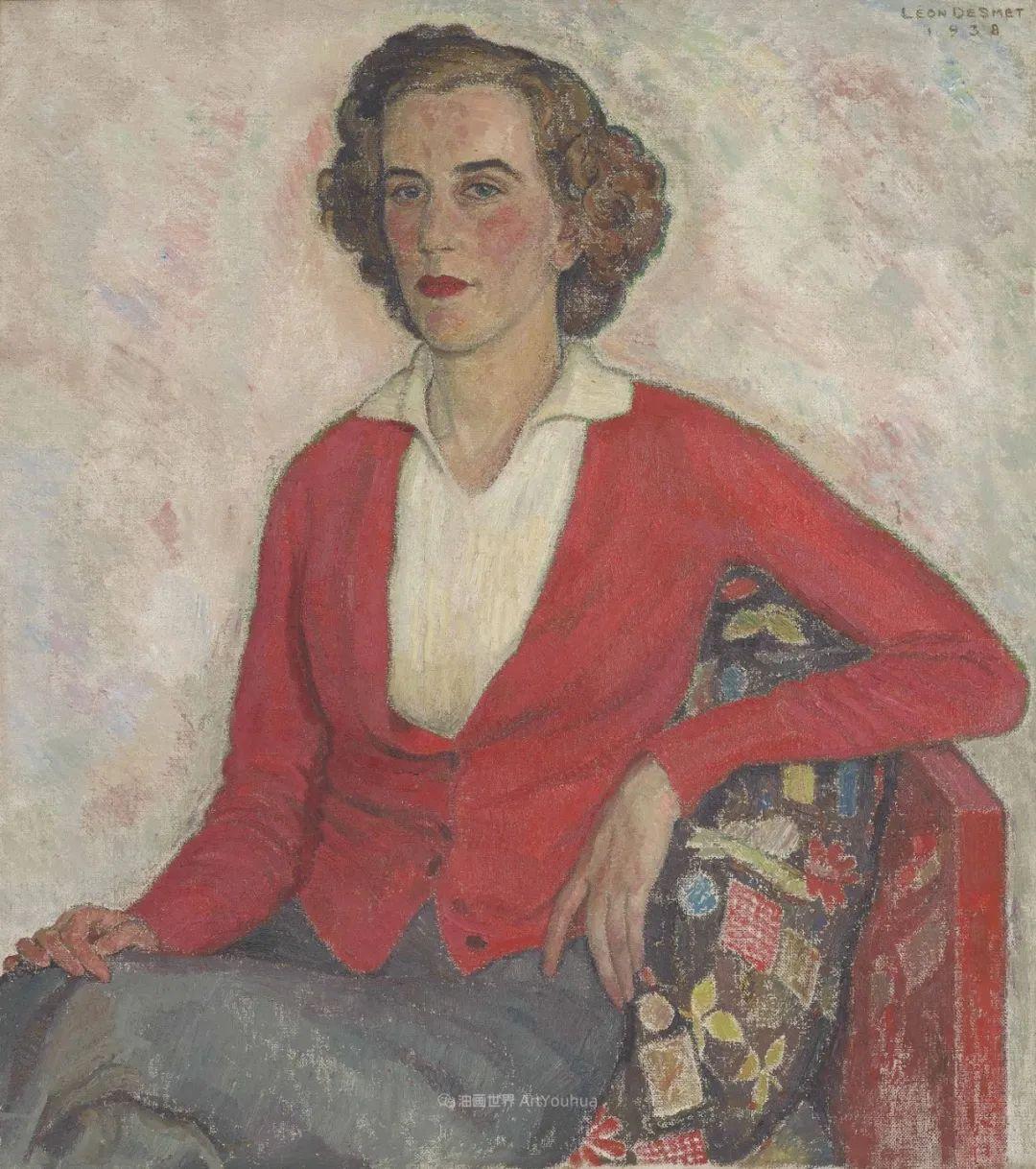 比利时画家 Léon de Smet  莱昂·德·史密特  作品欣赏插图75
