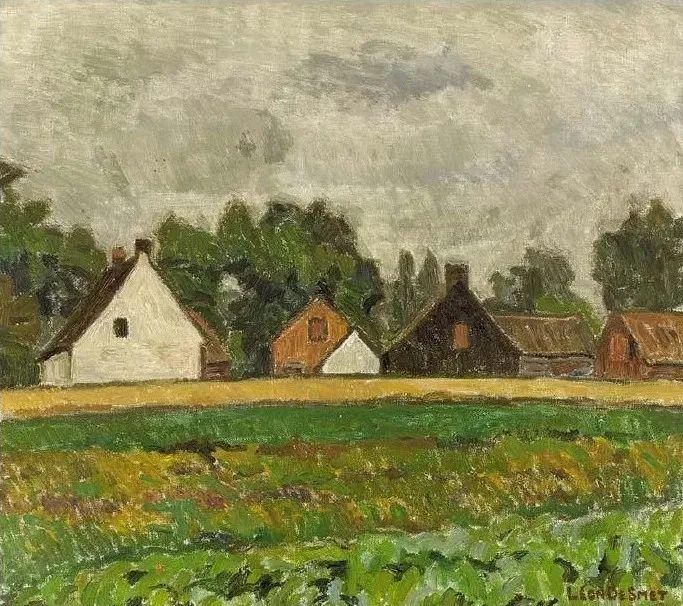 比利时画家 Léon de Smet  莱昂·德·史密特  作品欣赏插图77