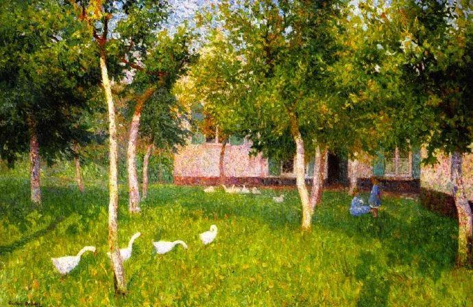 比利时画家 Léon de Smet  莱昂·德·史密特  作品欣赏插图81