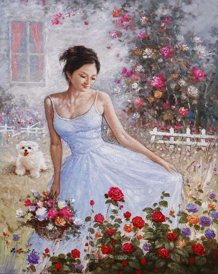 韩国画家 朱世柱 作品: 非常出色,温暖、音乐和神秘!插图11
