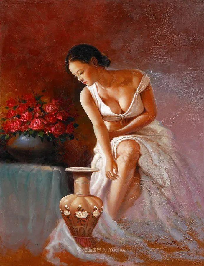 韩国画家 朱世柱 作品: 非常出色,温暖、音乐和神秘!插图21