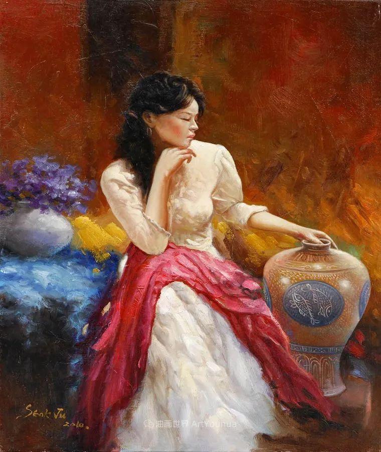 韩国画家 朱世柱 作品: 非常出色,温暖、音乐和神秘!插图25