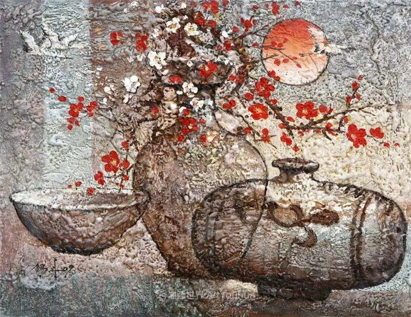韩国画家 朱世柱 作品: 非常出色,温暖、音乐和神秘!插图51