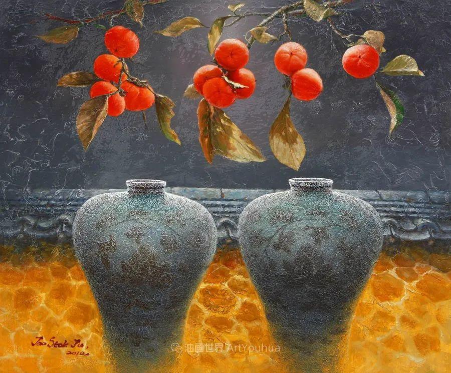 韩国画家 朱世柱 作品: 非常出色,温暖、音乐和神秘!插图55