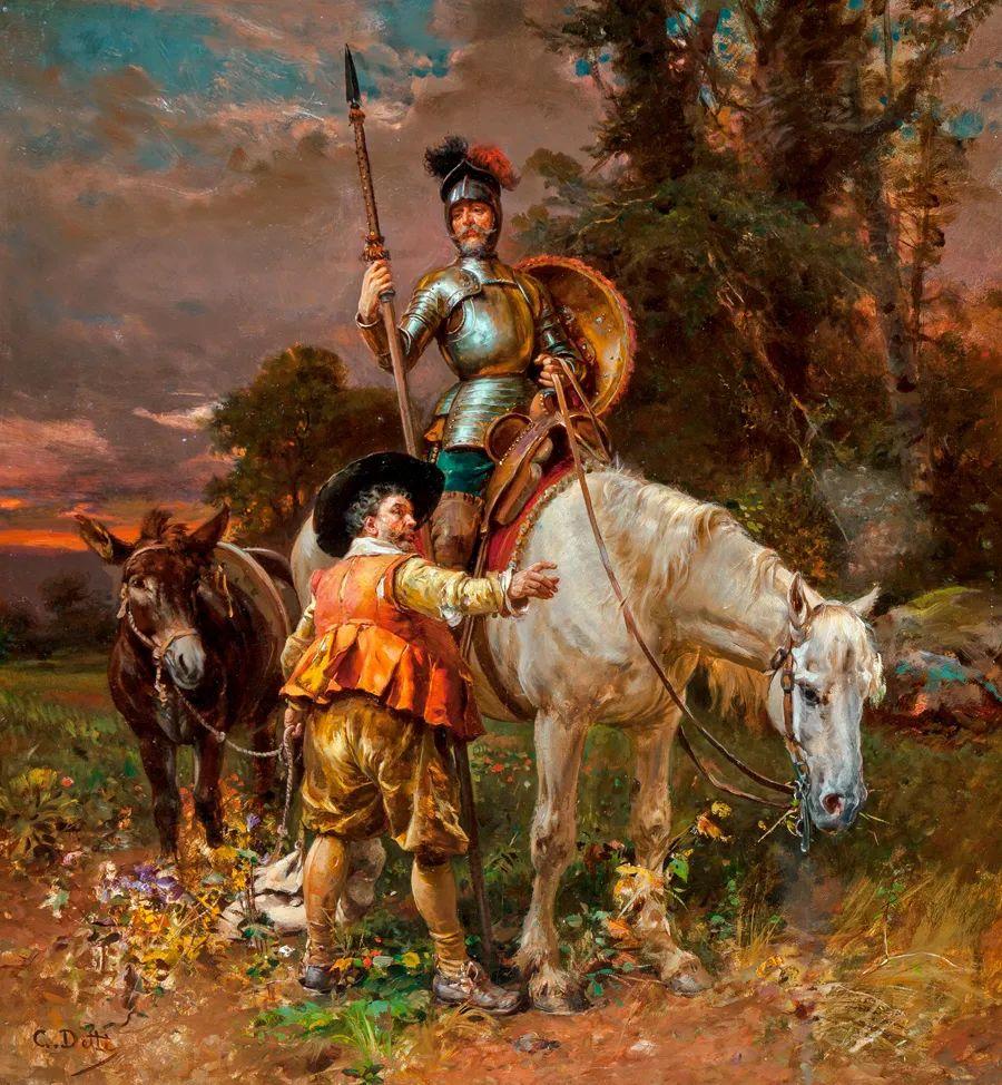 华丽的服饰,精美的人物,田园牧歌式的情感插图93