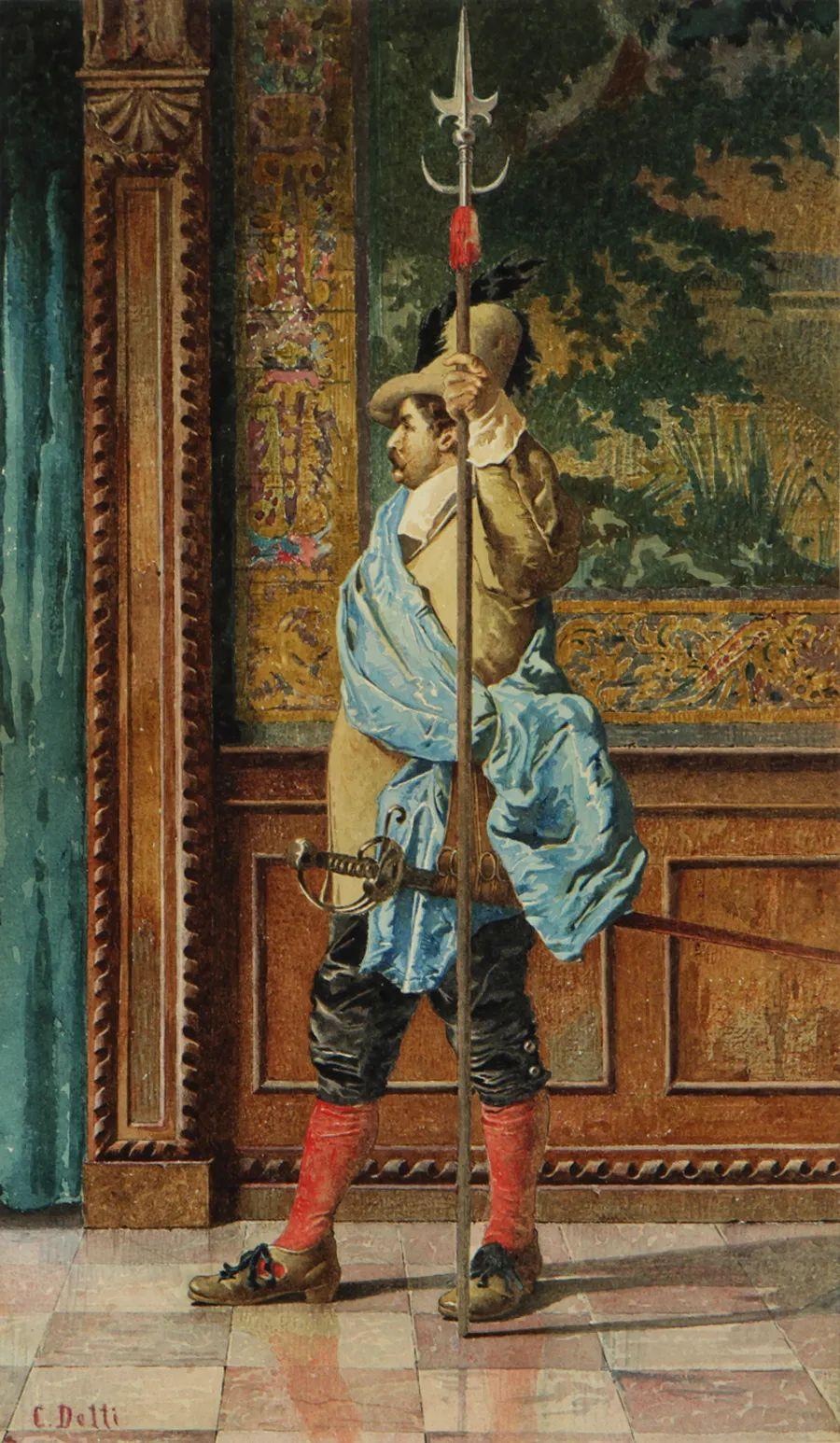 华丽的服饰,精美的人物,田园牧歌式的情感插图137