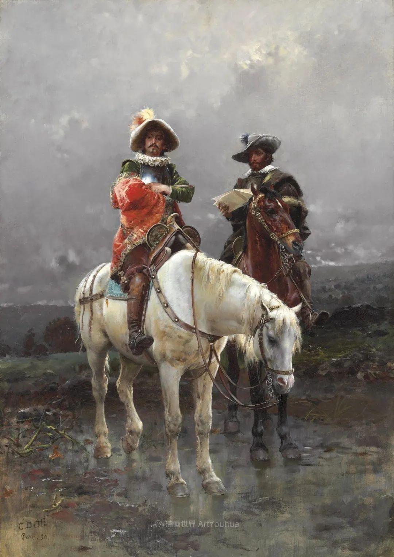 华丽的服饰,精美的人物,田园牧歌式的情感插图147