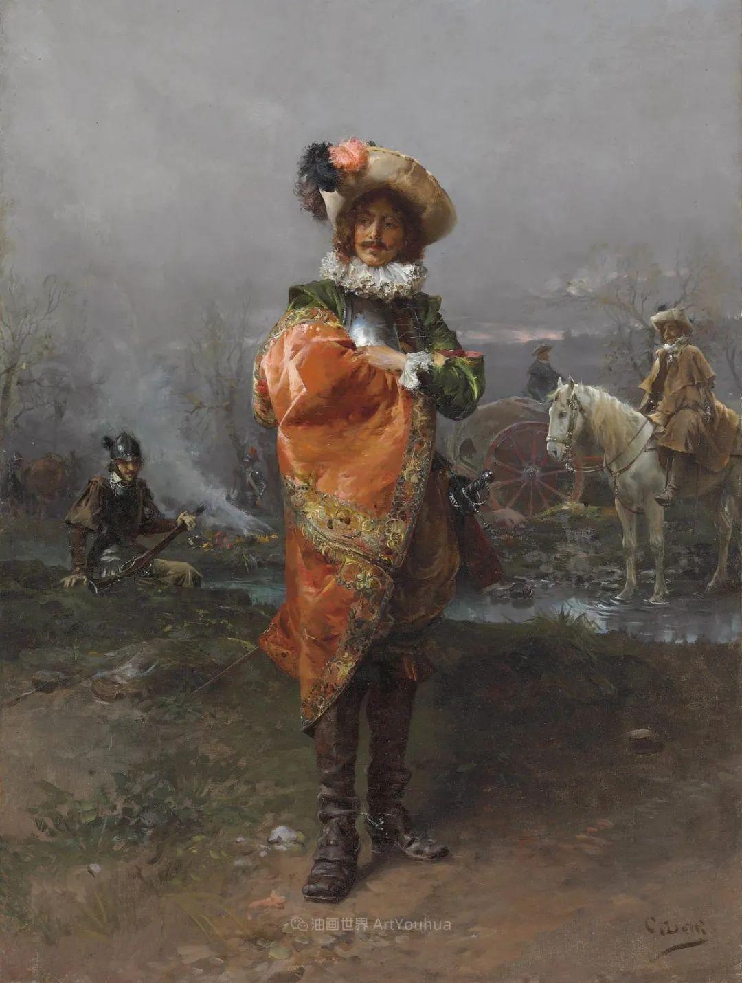 华丽的服饰,精美的人物,田园牧歌式的情感插图149