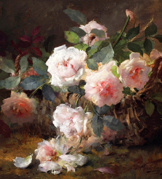 他笔下的粉色月季玫瑰,尤其受人关注!插图7