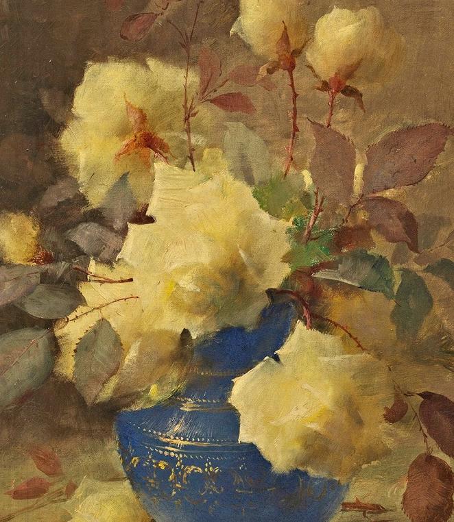 他笔下的粉色月季玫瑰,尤其受人关注!插图15