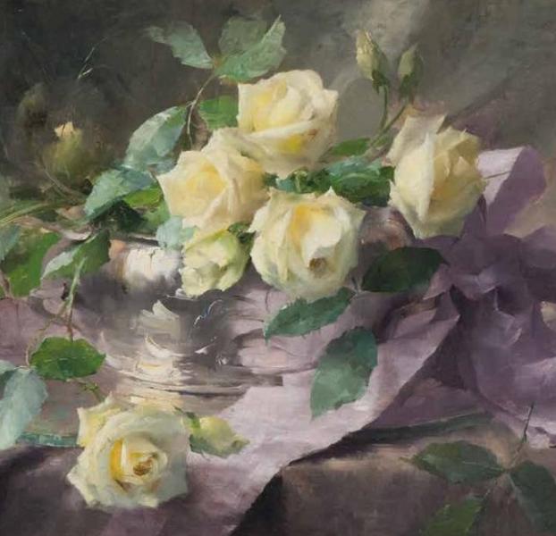 他笔下的粉色月季玫瑰,尤其受人关注!插图27