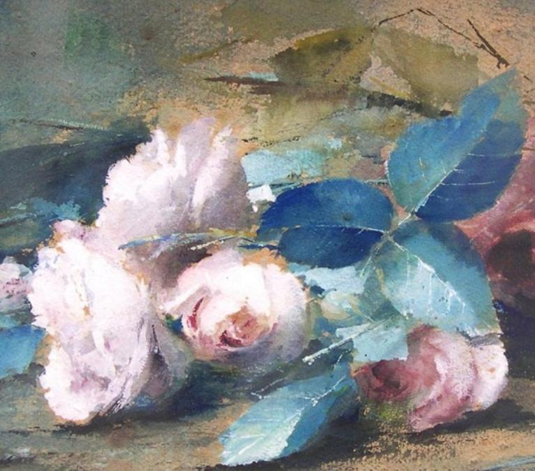 他笔下的粉色月季玫瑰,尤其受人关注!插图31