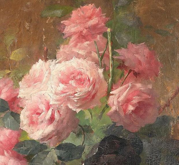他笔下的粉色月季玫瑰,尤其受人关注!插图35