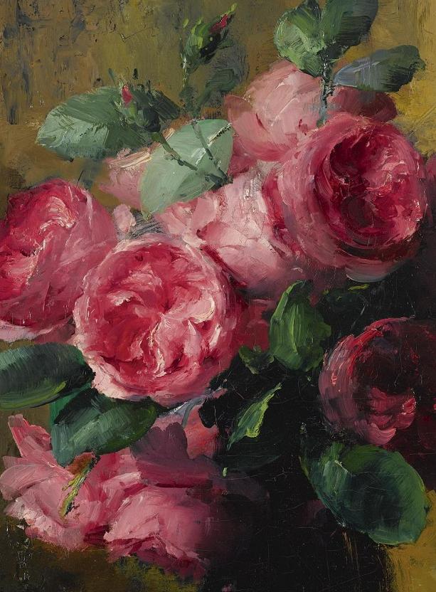 他笔下的粉色月季玫瑰,尤其受人关注!插图55