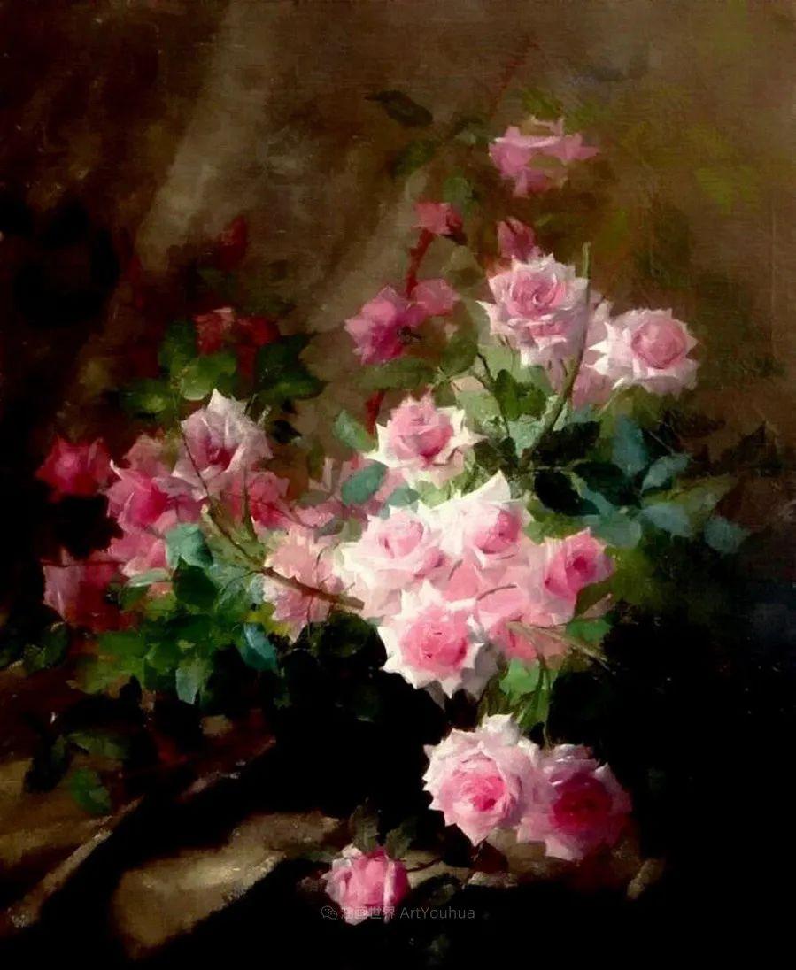 他笔下的粉色月季玫瑰,尤其受人关注!插图109