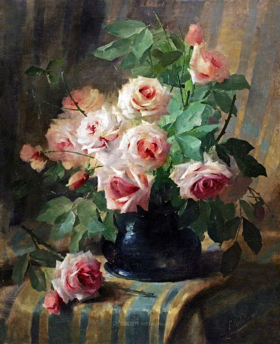 他笔下的粉色月季玫瑰,尤其受人关注!插图115