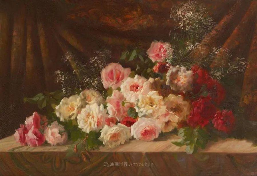 他笔下的粉色月季玫瑰,尤其受人关注!插图117