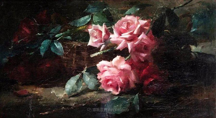 他笔下的粉色月季玫瑰,尤其受人关注!插图121