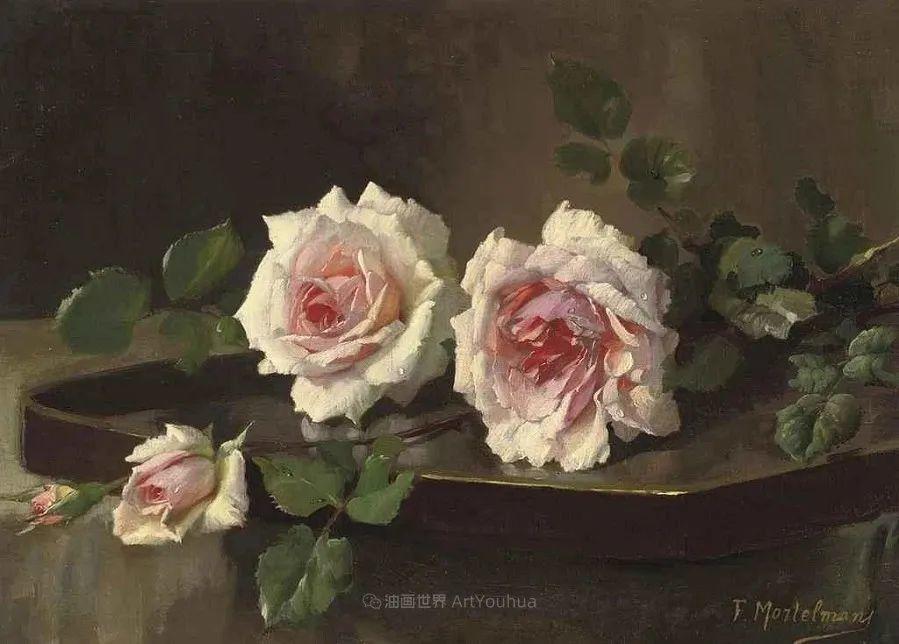 他笔下的粉色月季玫瑰,尤其受人关注!插图129