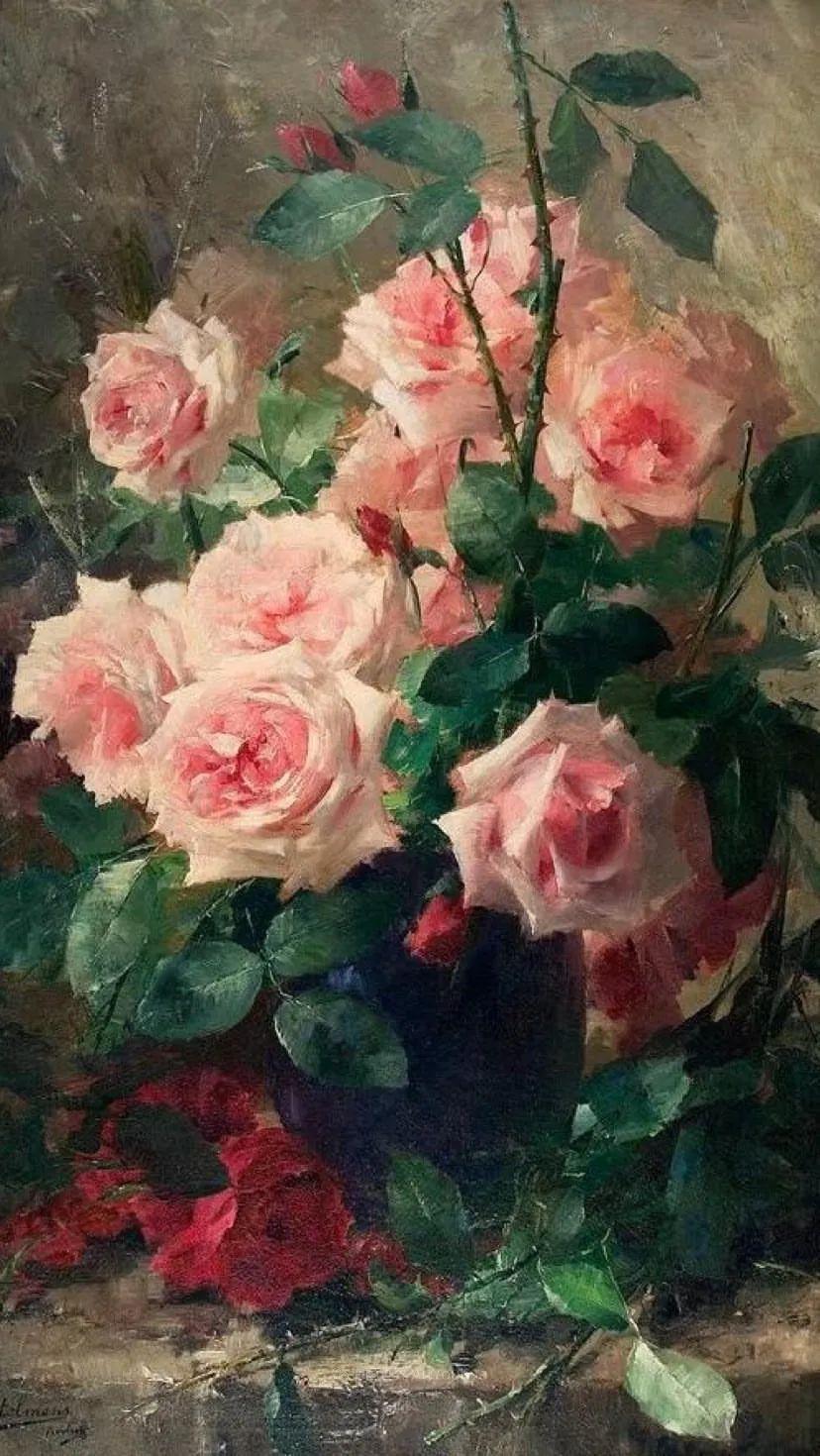 他笔下的粉色月季玫瑰,尤其受人关注!插图137