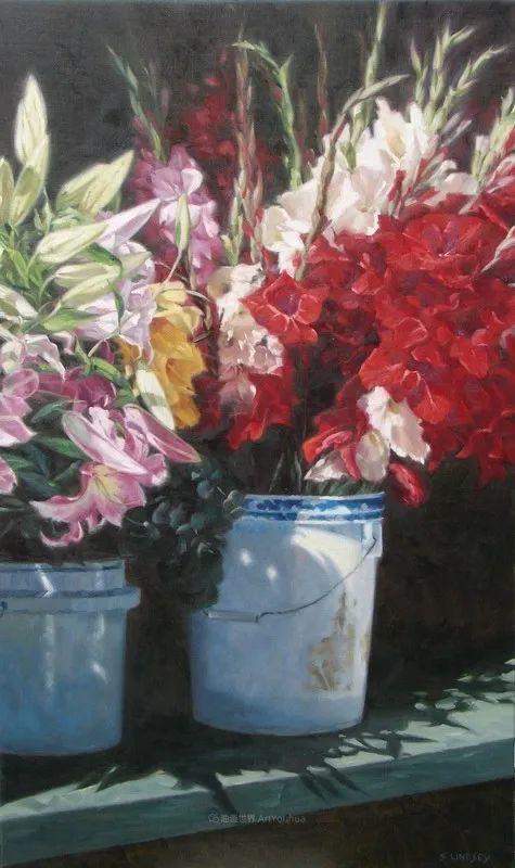 不同视角的花卉与静物插图99