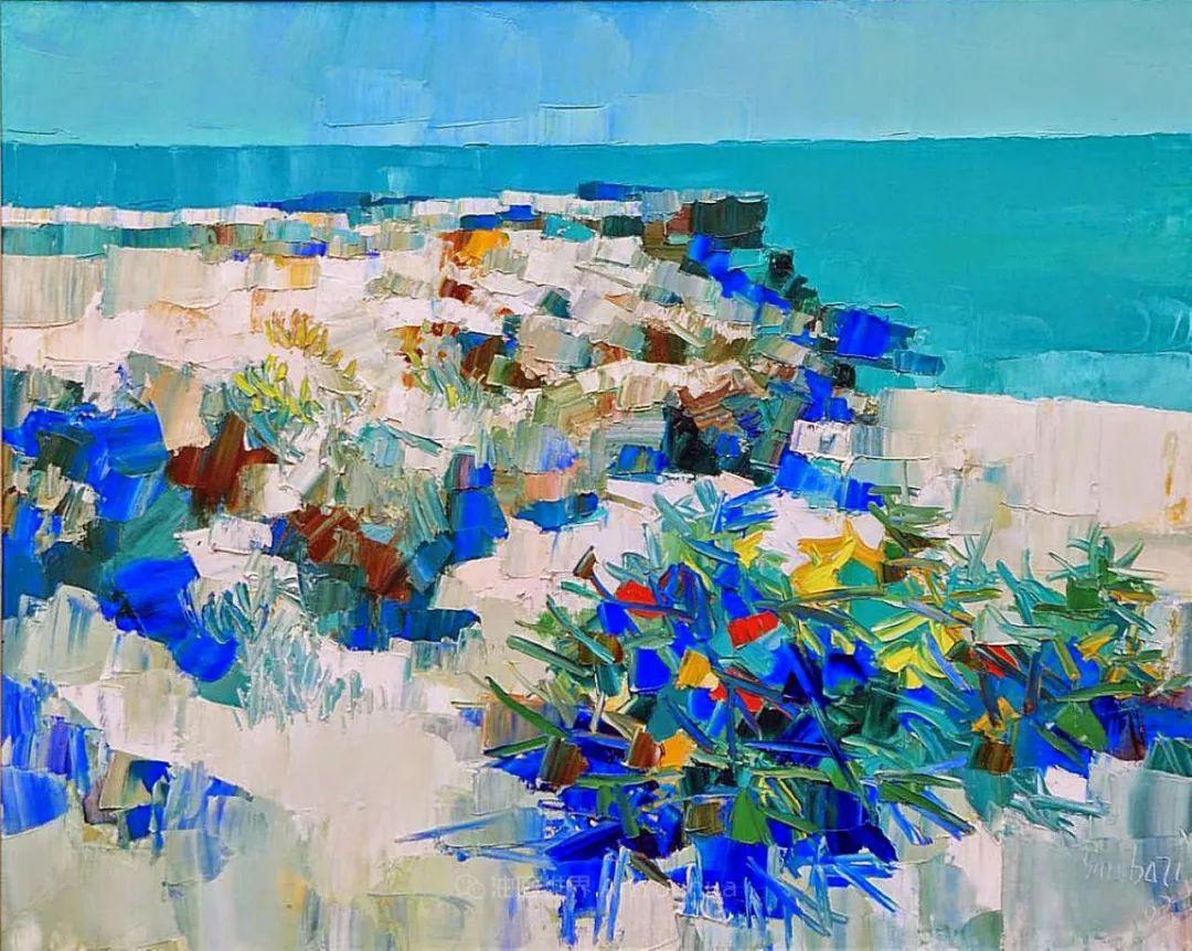 意大利画家尼古拉·辛巴里作品: 色块之美插图3