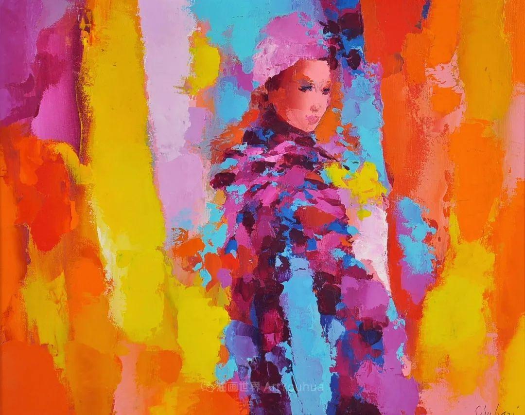 意大利画家尼古拉·辛巴里作品: 色块之美插图7