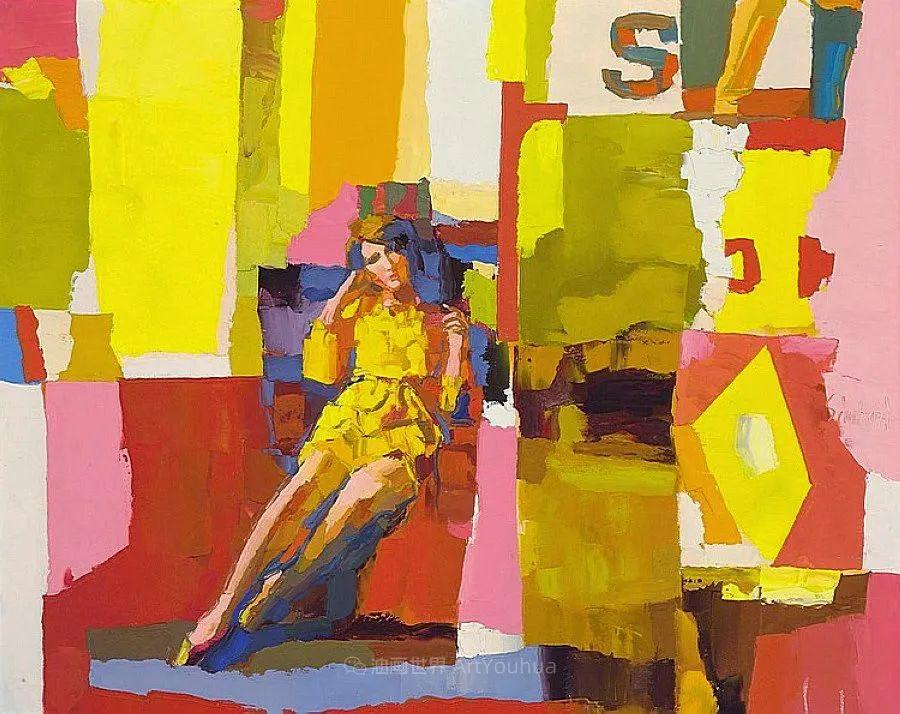 意大利画家尼古拉·辛巴里作品: 色块之美插图9