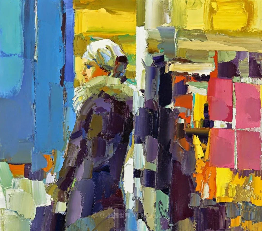 意大利画家尼古拉·辛巴里作品: 色块之美插图13