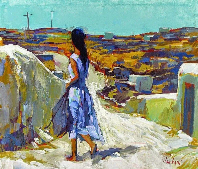 意大利画家尼古拉·辛巴里作品: 色块之美插图15
