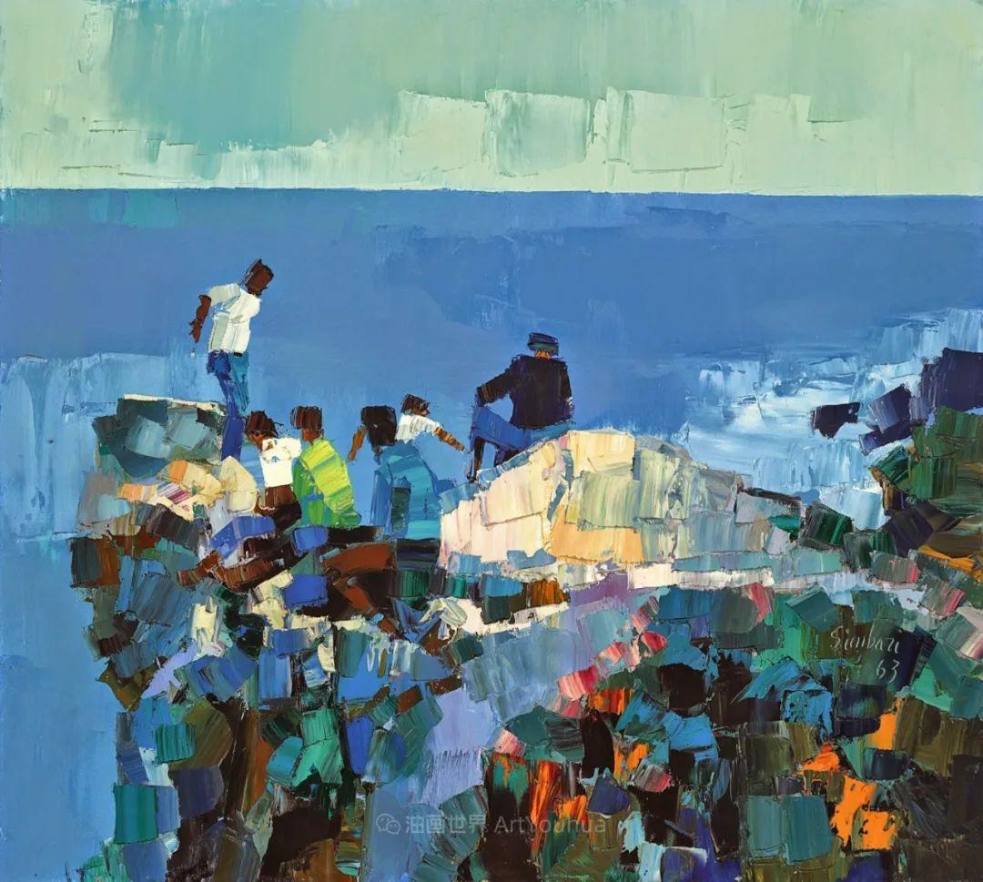 意大利画家尼古拉·辛巴里作品: 色块之美插图19