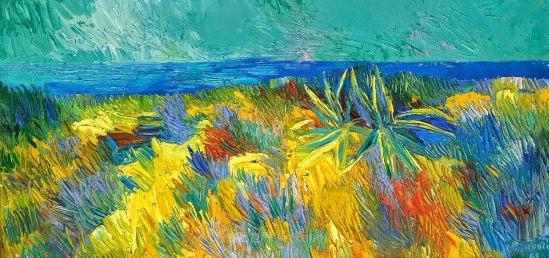 意大利画家尼古拉·辛巴里作品: 色块之美插图21