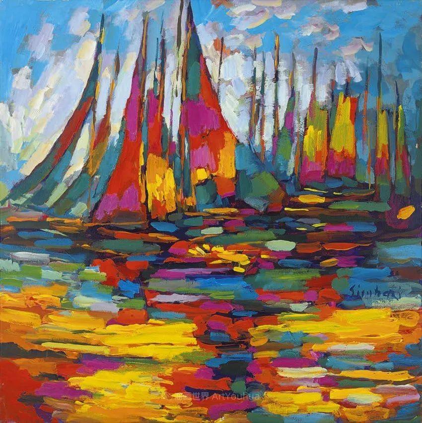 意大利画家尼古拉·辛巴里作品: 色块之美插图25